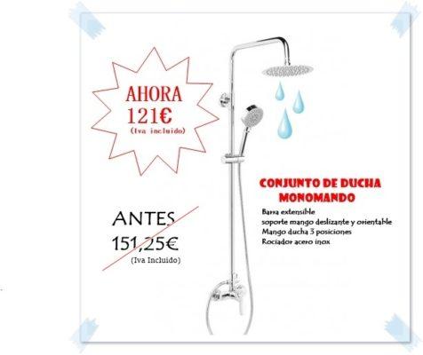 Oferta ducha termoestatica